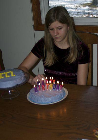 Kristi is 13