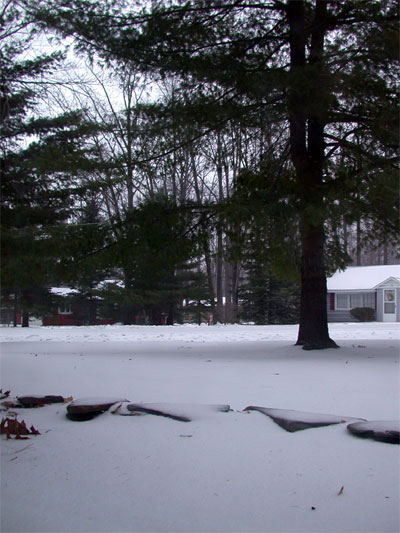 April snow showers photo