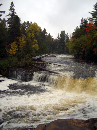 Lower Tahquamenon Falls, in the Upper Peninsula of Michigan