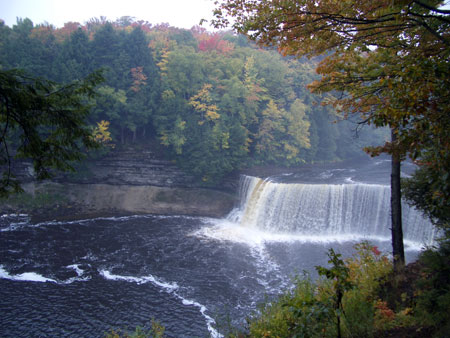Upper Tahquamenon Falls, in the Upper Peninsula of Michigan